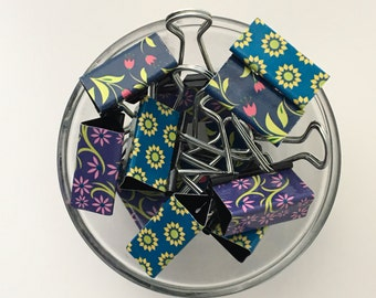 "Binder Clips - ""Blomstra Mix"""