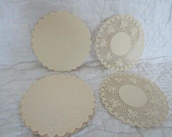 Vintage Paper Coaster Lot 2 Styles 25 plus