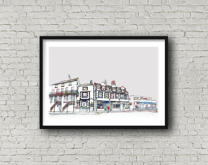 Featured listing image: Parkgate - WIRRAL - Print