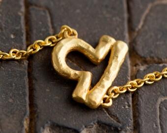 Sideways Libra Necklace - Silver Libra Necklace - Sideways Zodiac Necklace - Gold Libra Necklace Gift