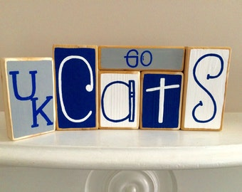University of Kentucky Wildcats Decorative Blocks