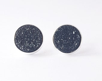 Dark Side Earrings (in setting)