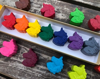 Unicorn Crayons - Unicorn Party Favors - Kids Gifts - Gifts For Kids - Rainbow Party Favors - Classroom Party Favor - Kids Party Favors -Toy