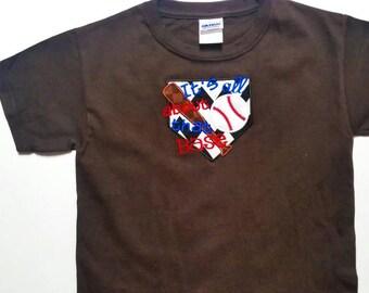 Custom Embroidered Boys Baseball Team Shirt - Team Bulk Order - Boys Baseball Gifts - Baseball Team Gift - Personalized Shirt