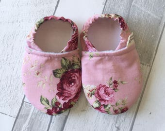 Summer Moccs 6 - 12 months / Baby shoes / Baby Girl Shoes