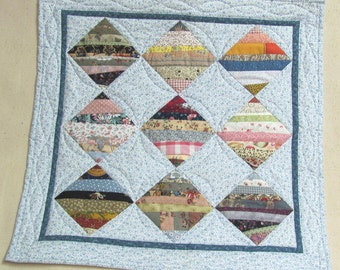 Patchwork doll quilt, table-topper or wallhanging