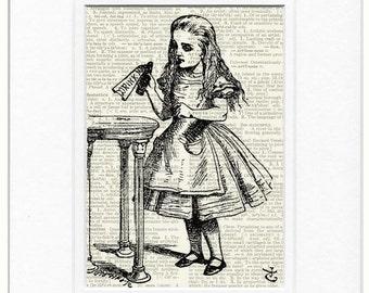 Drink Me - Alice in Wonderland print