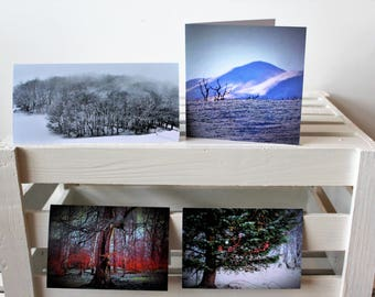 Christmas Card 4 pack selection ( selection pack 2)