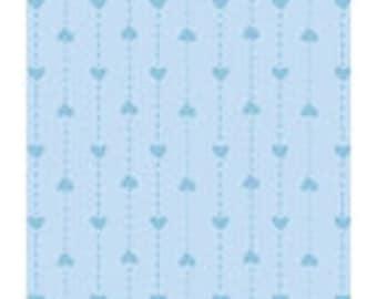 Basically Hugs Dot Hearts - Blue - #25044