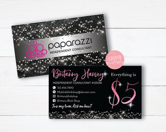 Paparazzi business cards etsy quick view printable paparazzi business card paparazzi jewelry colourmoves