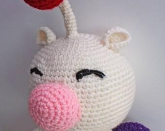 PATTERN - Crochet Moogle - Free International Shipping