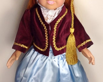 Amalia Costume - American Girl Doll