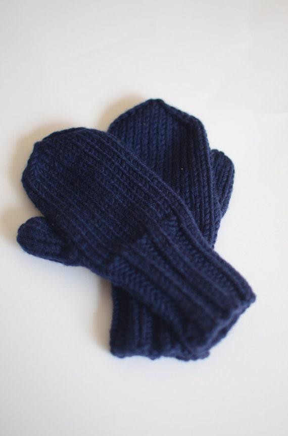 Handgestrickte Kinder Handschuhe stricken Kleinkind Handschuhe