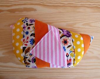 Stuffed bird plush Mishka/Bird fabric