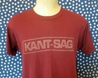 Perfectly worn-in 1980's distressed t-shirt, medium