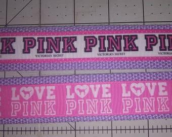 Pink key fob