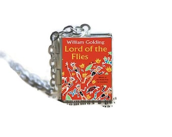 Lord of the Flies Book Locket Necklace
