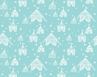 Calliope - Big Top in Blue by Maude Asbury for Blend Fabrics