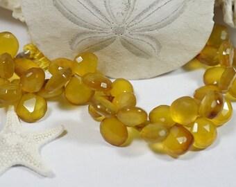 Chalcedony Facet Beads 11mm Gemstone Beads Jewelry Making SuppliesSupplies