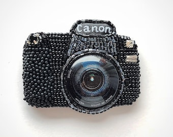Brooch Handmade Photo Camera