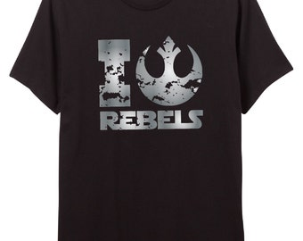 "Star Wars Fan Shirt - ""I Love Rebels""  Shirt - Rebels - Rebellion -"