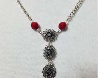 Triple Charmed Necklace