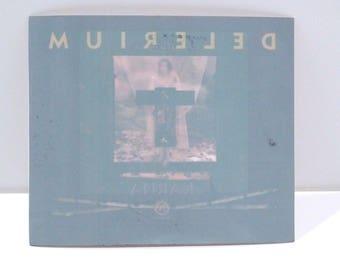 Delerium Karma Window Cling Sticker 1997 Vintage Reverse Album Cover Artwork for Glass Door Band Nettwerk 1990s Mohawk Music Record Store