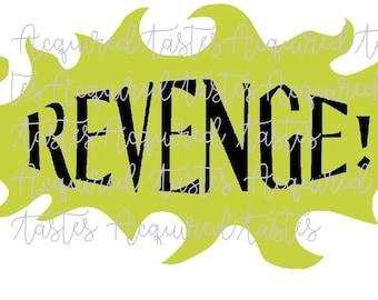 Revenge SVG