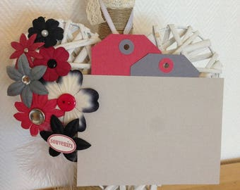 VALENTINE RED HEART TO HANG