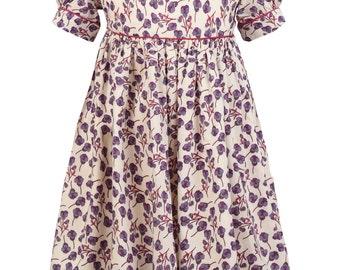 Girl's Classic Boo Dress in Liberty print