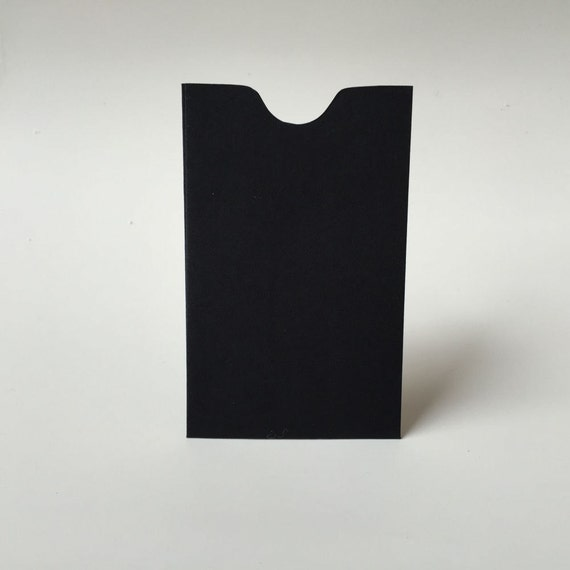 25 black mini envelopes business card holder gift colourmoves