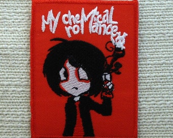 My chemical Romance rock band logo Jacket Patch iron on sew on Embroidery badge / patch