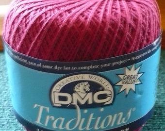 1 - DMC - Traditions Crochet Thread - Color - 5815 - 350 Yards - 2 Ozs. - Read Below
