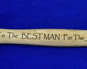 Groomsmen Gift ~ Best Man Gift ~ Engraved Hammer ~ Wedding Party Gifts ~ Engraved Groomsmen Gifts ~ Personalized Hammer ~ Wedding Gifts ~