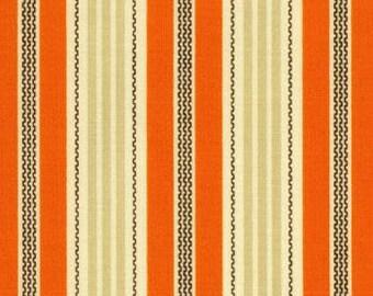Aviary Joel Dewberry Broad Stripe orange FQ or two - see photo #2