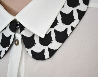 Peter Pan collar cats.