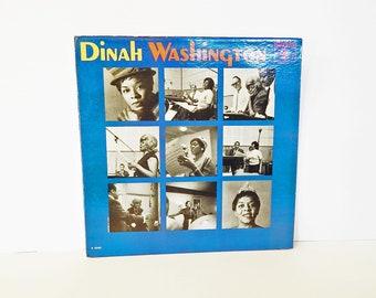 Dinah Washington Record Album