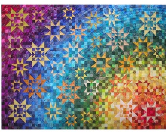 Pattern for the rainbow quilt