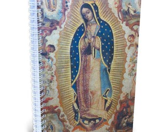 Virgin of Guadalupe Lined Journal, Made in the USA