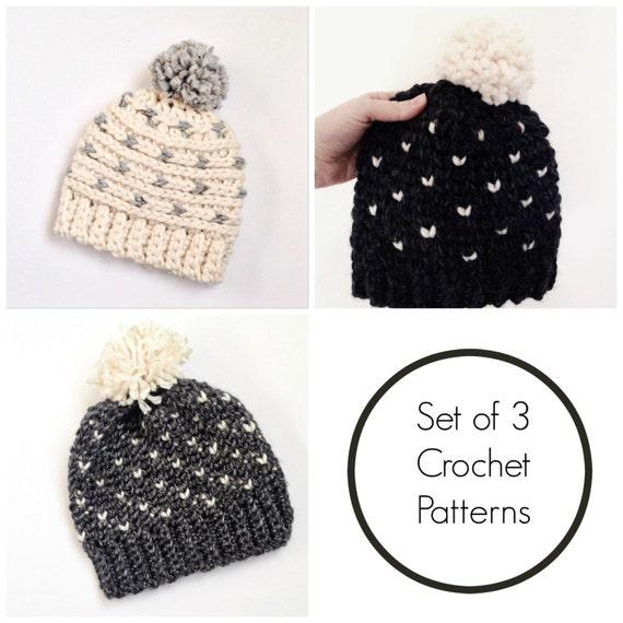 Hat Crochet Patterns Fair Isle Hat Pattern Crochet Toddler
