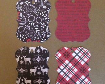 """20 - 3""""  Christmas Gift Tags  T13"""