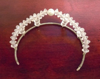 princess crown small wire wrapped
