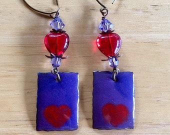 My Valentine Dangle & Drop Earrings