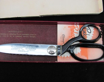 Vintage CLAUSS Pinking Shears In Orignal Box