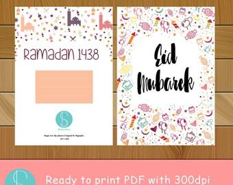 Ramadan Planner 2017 A5 size  with pattren design