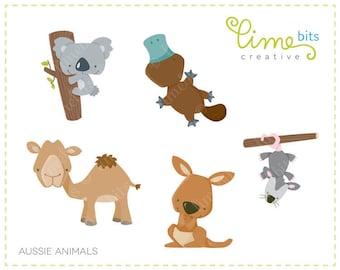Aussie Animals Clip Art