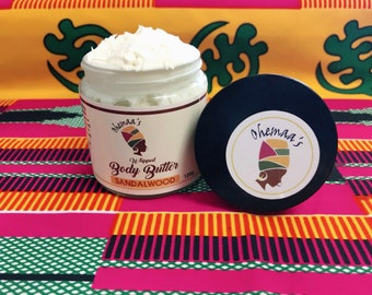 Creamy Sandalwood Whipped Body Butter