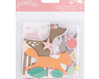 Pebbles - Lullaby Collection - Ephemera - Girl