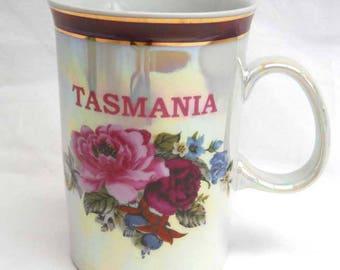 Tasmania Souvenir Ware Coffee Mug Vintage