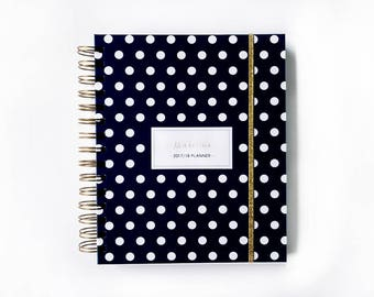 2018 personalized planner 2018 planner agenda student planner 2018 daily planner 2018 weekly planner 2018 custom planner academic hard cover